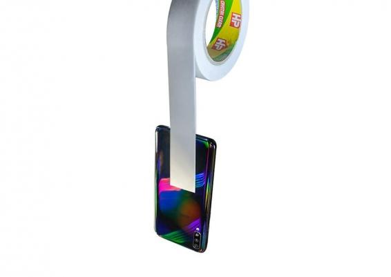 سلوتيب دبل فيس لاصق  Double Sided Face Adhesive Tape دبل فيس شفاف ورق ( سهل القطع )  ( هوت ميلت - سو