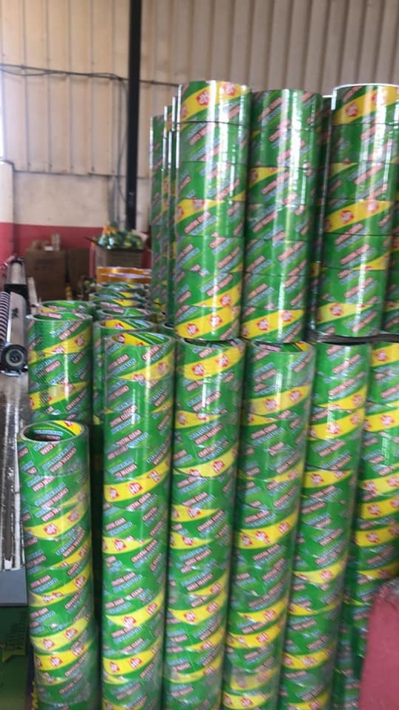 مصنع سلوتيب كريستال HP هاوس بلاست    سلوتيب سوبر كريستال Super Crystal HP Clear Tape