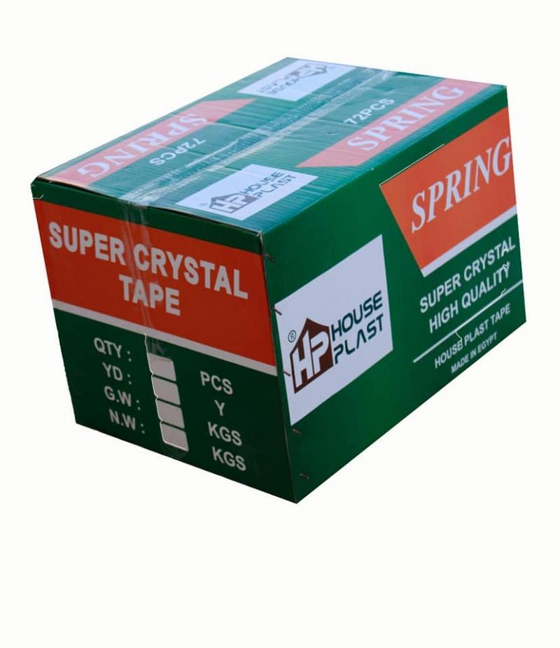 مصنع سلوتيب كريستال HP هاوس بلاست     سلوتيب كريستال كلير تيب Crystal HP Clear Tape